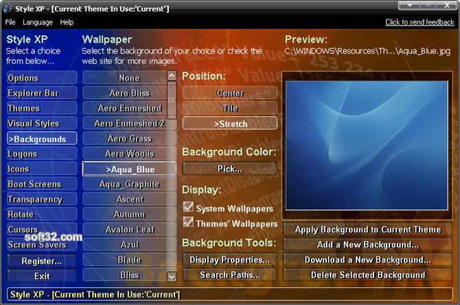 Style XP Screenshot
