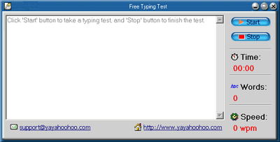 Free Typing Test Screenshot