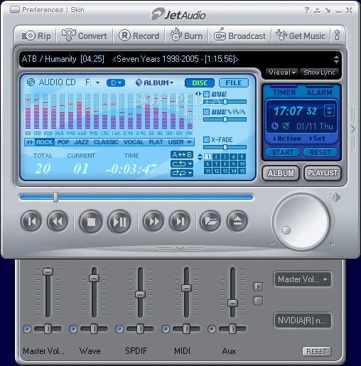 JetAudio Basic Screenshot