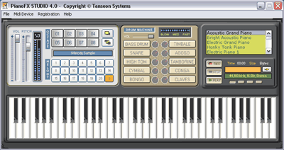 PianoFX STUDIO Screenshot