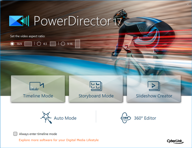 CyberLink PowerDirector Screenshot