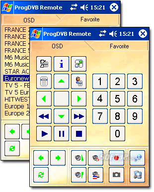 ProgDVB Remote Screenshot
