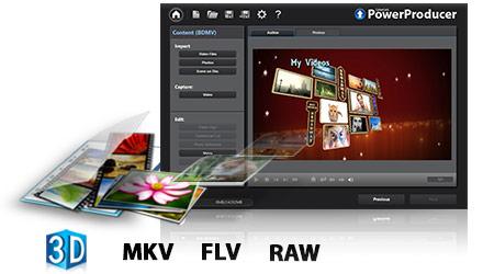 CyberLink PowerProducer Screenshot