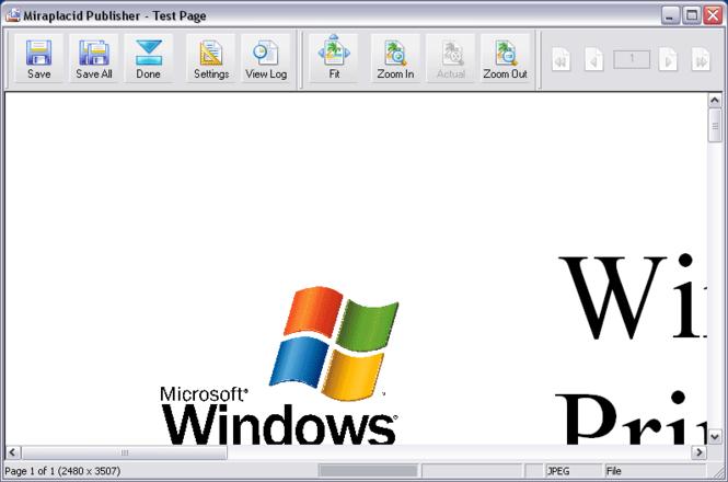 Miraplacid Publisher : Image Printer.