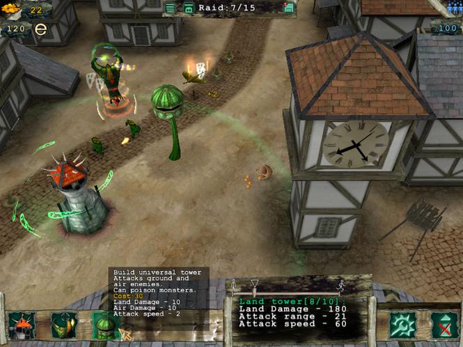 Скриншот к игре Master Of Defense. главная мини игры для мальчиков. флеш ил