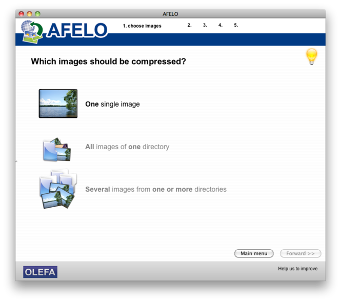 AFELO Screenshot