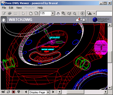 Free DWG Viewer Screenshot
