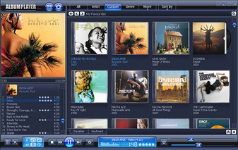 AlbumPlayer Screenshot