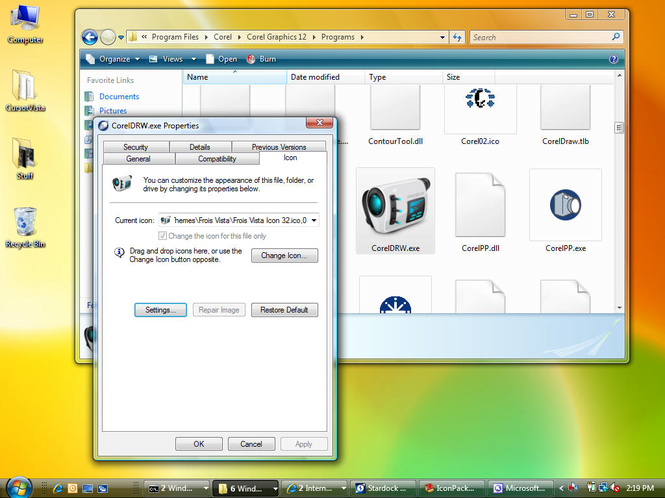 IconPackager Screenshot