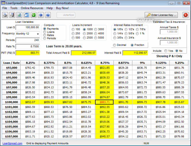personal finance calculator excel