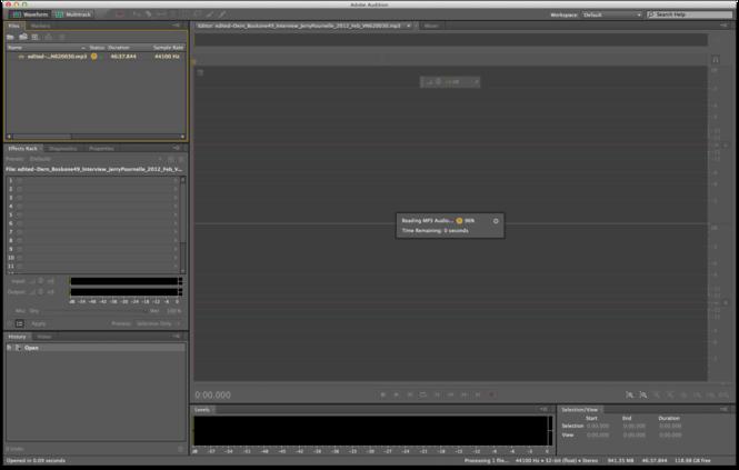 Adobe Audition Screenshot 2