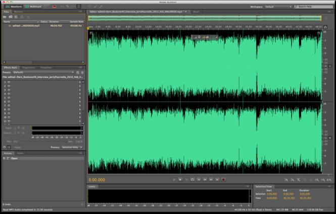 Adobe Audition Screenshot 3