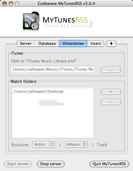 MyTunesRSS Screenshot 9