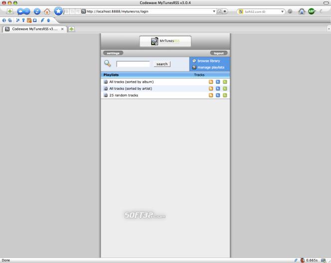 MyTunesRSS Screenshot 5