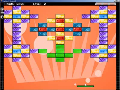 MyPlayCity Arkanoid Screenshot