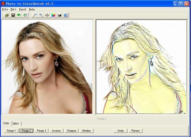 Как из фото сделать графический рисунок
