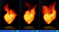 Fire Heart Desktop Gadget 1