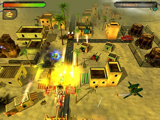 AirStrike II: Gulf Thunder Screenshot