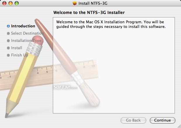 NTFS-3G Screenshot