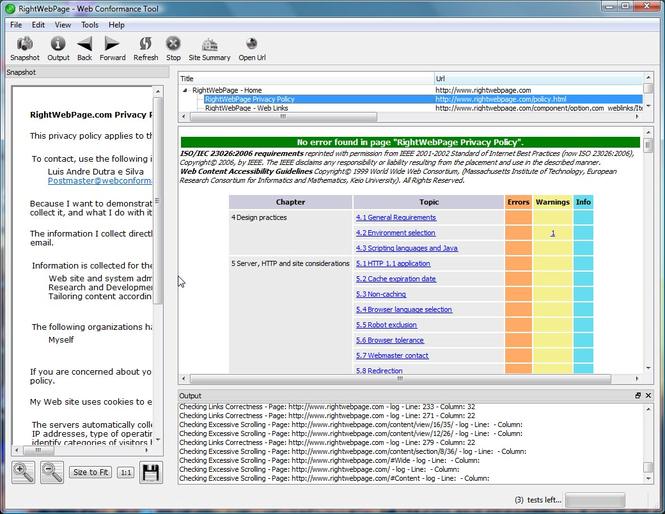 - Автоматическая проверка и корректировка совместимости по Интернет стандар