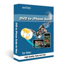 ImTOO DVD to iPhone Suite for Mac Screenshot