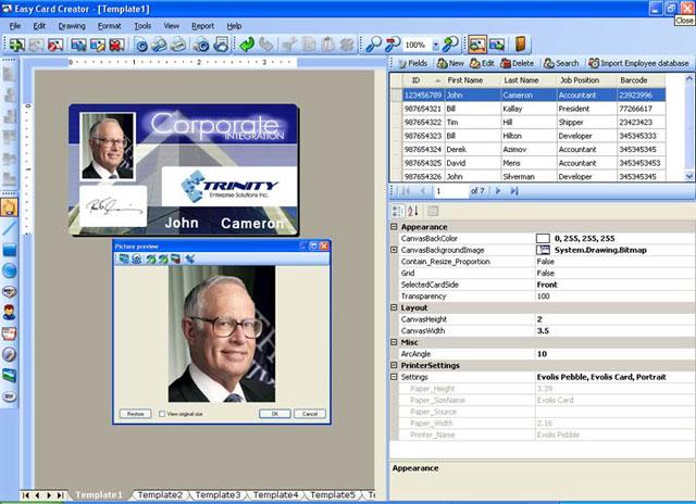 Easy Card Creator Enterprise Screenshot
