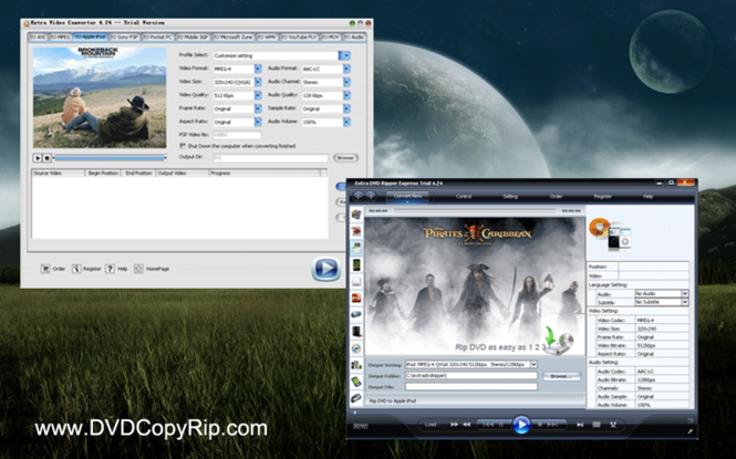 Extra DVD Ripper + Video Converter Screenshot