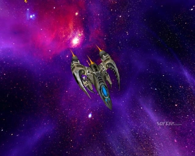 SPACE WARS 3D Screensaver Screenshot