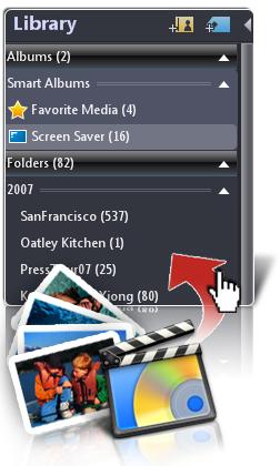 CyberLink MediaShow Screenshot