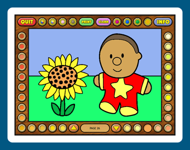 Coloring Book 13: Kids Stuff Screenshot