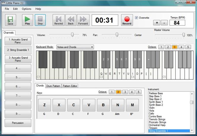 Little Piano Screenshot