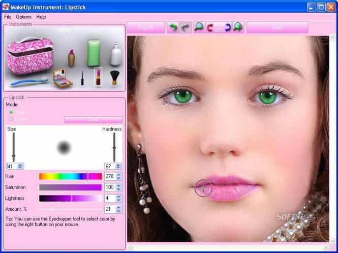 Программа макияж на делать