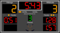 Hockey Scoreboard Standard 1