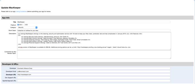 MacKeeper Screenshot 14