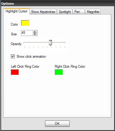 PointerFocus Screenshot