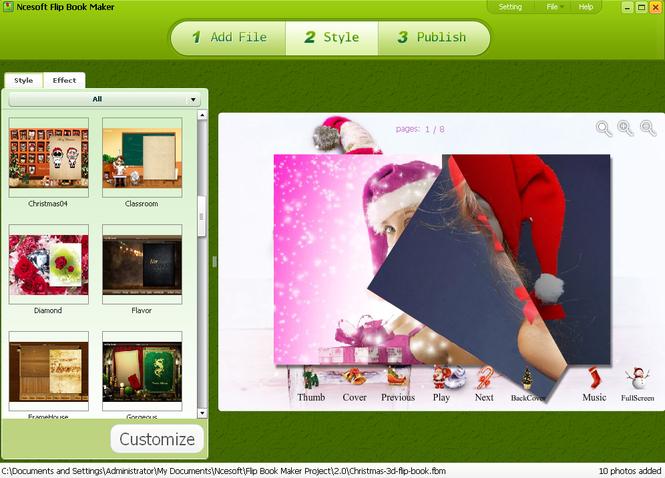 Flip Book Maker Screenshot