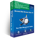 Acronis Disk Director Suite Screenshot