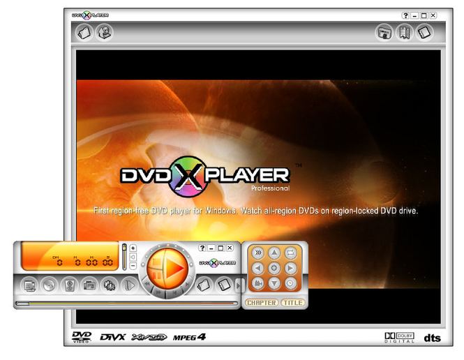 DVD X Player Professional Information.