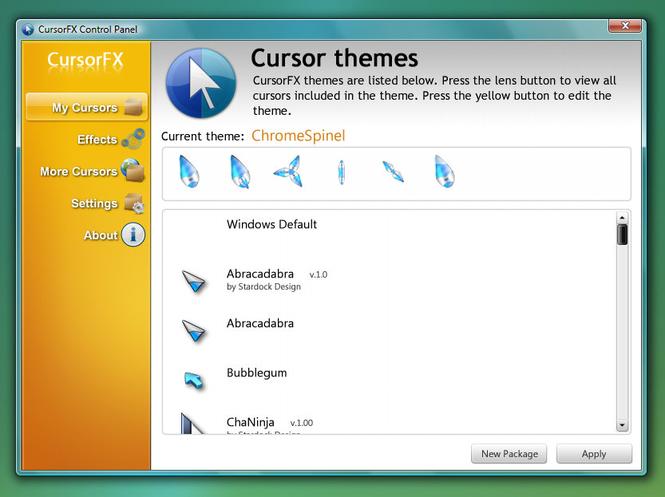 CursorFX Screenshot