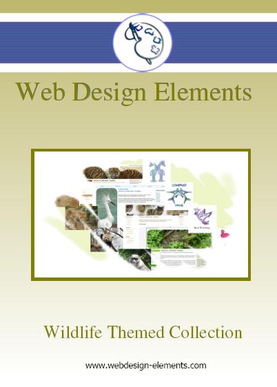 Wildlife Web Elements Screenshot