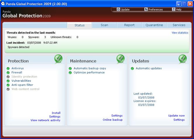 Panda antivirus pro 2009. скачать кряк для игры Источник http.