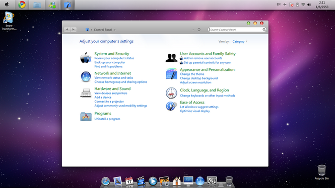 Snow Transformation Pack For Windows 7