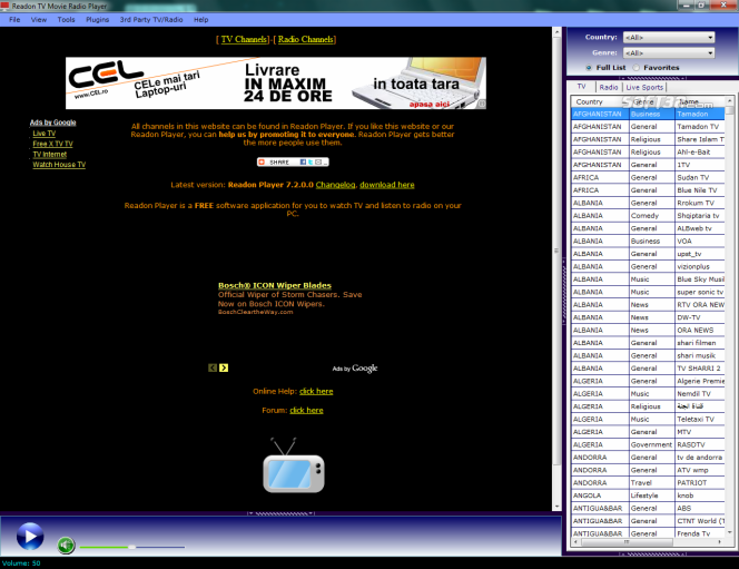 free tv channels download for Windows 7 - Softonic.