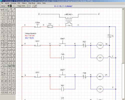 EZ Schematics Screenshot