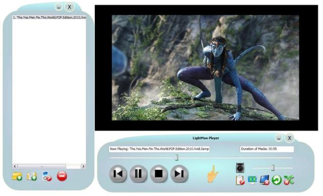 LightMan Player Screenshot