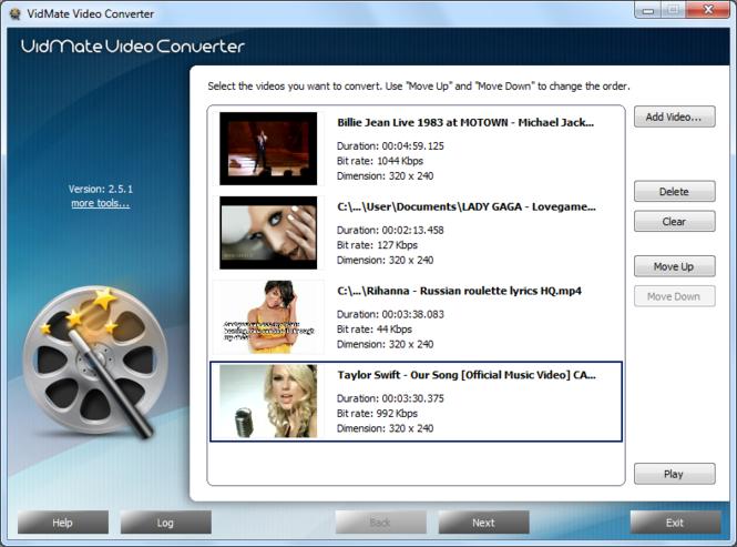 VidMate Video Converter Screenshot