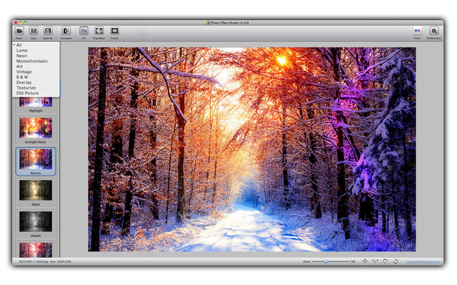 Photo Effect Studio Screenshot