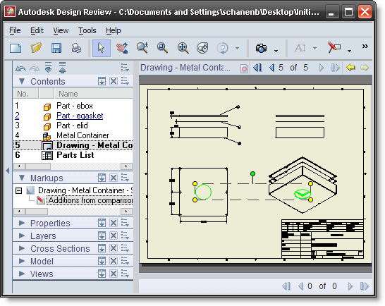 Autodesk Design Review Screenshot