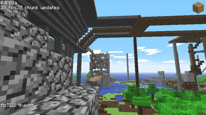 Screenshots of minecraft