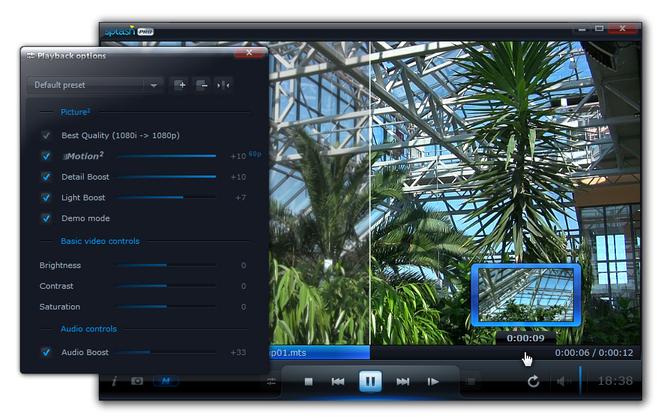 Splash PRO - HD video player Screenshot
